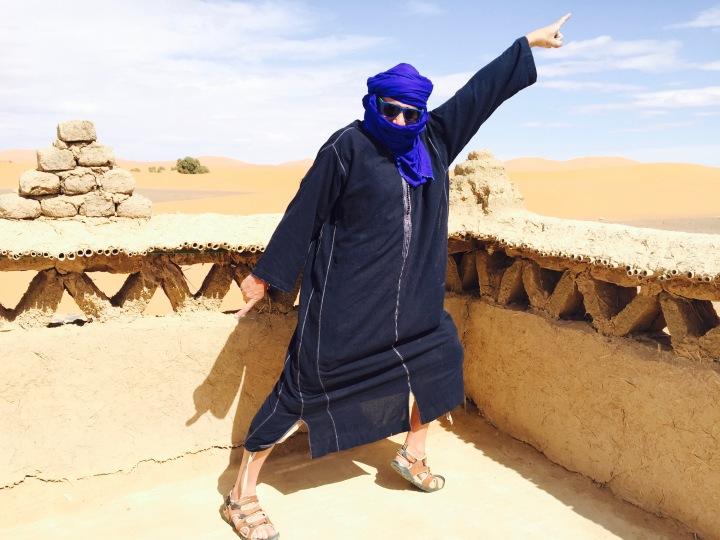 Maroc Merzouga drapés